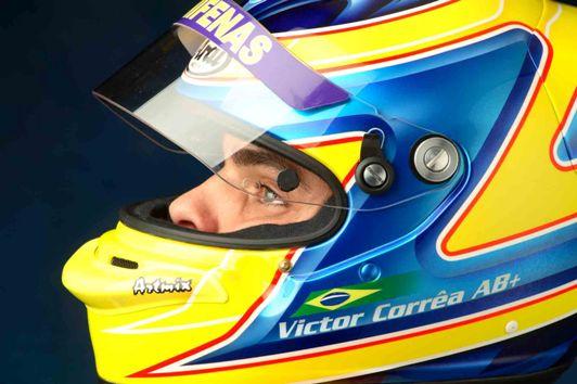 F-Ford: Mineiro Victor Corrêa ainda comemora recorde em Spa