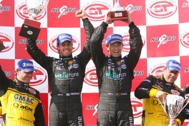 FIA GT: Xandinho Negrão vence em Nogaro. Toni Vilander/ Gianmaria Bruni são os campeões na GT2