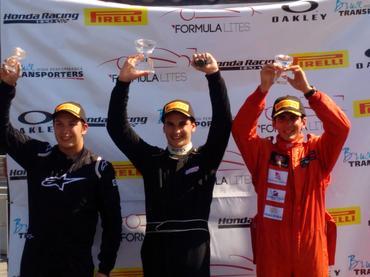 Fórmula Lites: Vini Papareli vence e assume liderança nos Estados Unidos