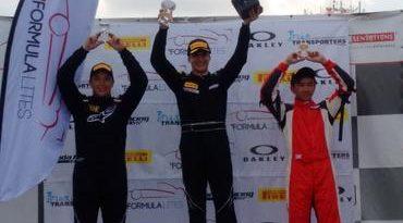 Fórmula Lites: Vini Papareli vence as duas provas e dispara na liderança nos Estados Unidos