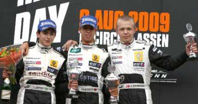 Norte Europeu de Fórmula Renault: Brasileiro conquista segundo pódio na Europa