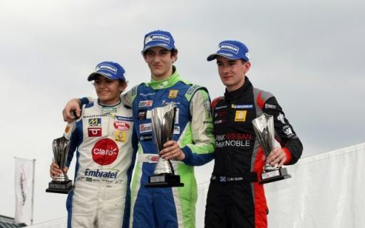 F-Renault Britânica: Pietro Fittipaldi encerra temporada perfeita com pódio