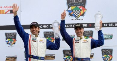 Grand-Am: João Barbosa/Christian Fittipaldi vencem em Mid-Ohio