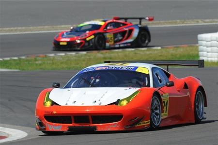GT Open: Ferrari vence as duas provas em Nürburgring