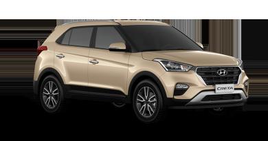 Informações: Hyundai Creta é o SUV mais vendido de novembro. Honda HR-V lidera o ano