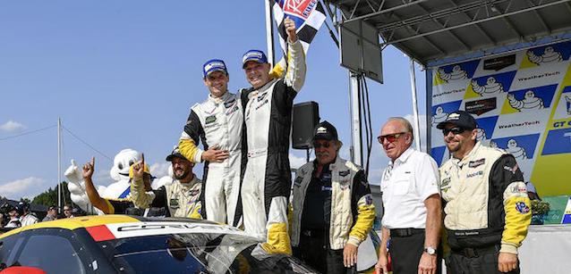 IMSA WeatherTech SportsCar Championship: Antonio Garcia e Jan Magnussen vencem em Virginia