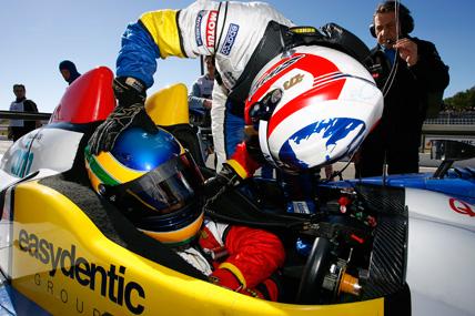 LMS: Bruno Senna é o 3º mais veloz na Bélgica