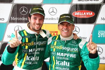 Mercedes-Benz Grand Challenge: João Campos e Márcio Campos conquistam título antecipado no Velopark