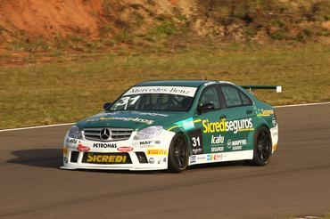 Mercedes-Benz Grand Challenge: Piloto gaúcho larga na pole position em Santa Cruz do Sul