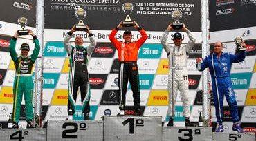 Mercedes-Benz Grand Challenge: Em participação especial, Wellington Cirino vence prova em Jacarepagu