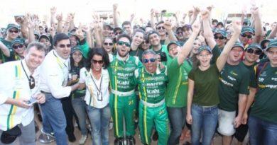 Mercedes-Benz Grand Challenge: Márcio Campos chega em 6º e fatura o bicampeonato com seu pai João