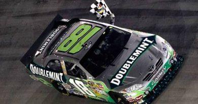 NASCAR Sprint Cup Series: Kyle Busch vence em Bristol e entra para a história