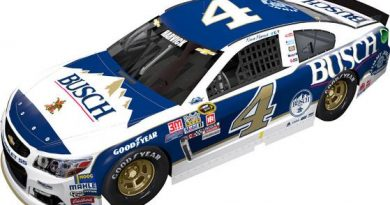 NASCAR Sprint Cup Series: Chuva cancela classificatório. Kevin Harvick alinha na pole em Darlington