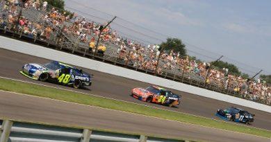 Nascar Sprint Cup: Jimmie Johnson vence a Brickyard 400