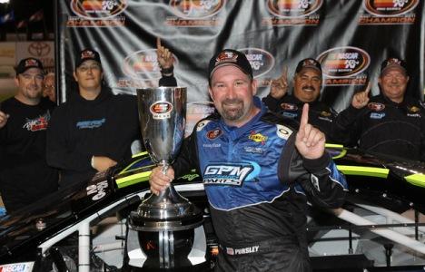 NASCAR K&N Pro West Series: Greg Pursley é o Campeão de 2011