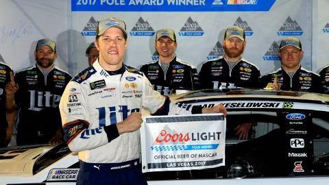 NASCAR Monster Energy Cup Series: Brad Keselowski marca a pole em Las Vegas