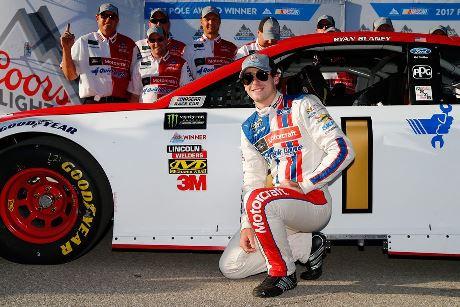 NASCAR Monster Energy Cup Series: Ryan Blaney marca a pole no Kansas