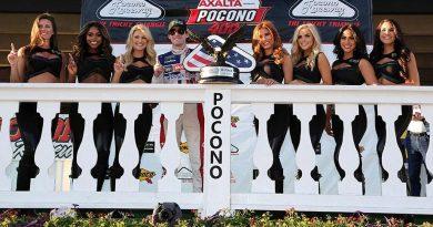 NASCAR Monster Energy Cup Series: Ryan Blaney vence em Pocono