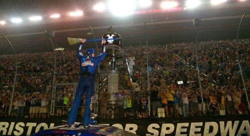 "NASCAR Monster Energy Cup Series: Kyle Busch ""varre"" Bristol"