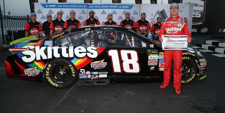 NASCAR Monster Energy Cup Series: Kyle Busch marca a pole em Chicago