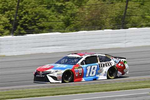 NASCAR Monster Energy Cup Series: Kyle Busch marca a pole em Pocono