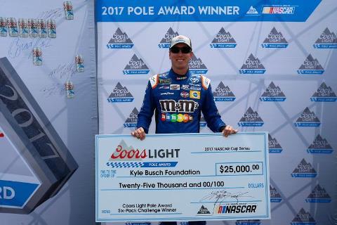 NASCAR Monster Energy Cup Series: Kyle Busch marca a pole em Watkins Glen