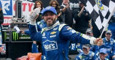 NASCAR Monster Energy Cup Series: Jimmie Johnson vence em Bristol