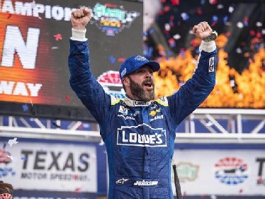 NASCAR Monster Energy Cup Series: Jimmie Johnson vence no Texas