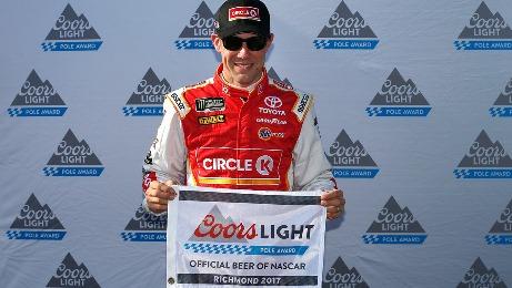 NASCAR Monster Energy Cup Series: Matt Kenseth marca a pole em Richmond
