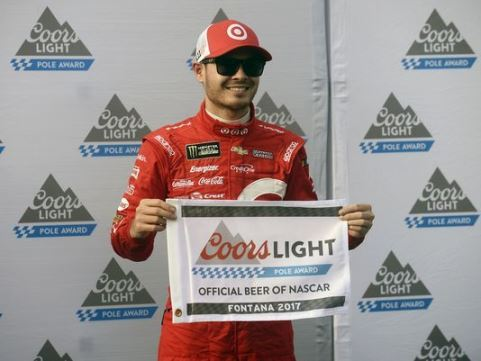 NASCAR Monster Energy Cup Series: Kyle Larson marca a pole em Fontana