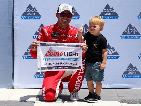 NASCAR Monster Energy Cup Series: Kyle Larson marca a pole em Sonoma