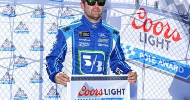 NASCAR Monster Energy Cup Series: Ricky Stenhouse Jr. marca a pole em Talladega