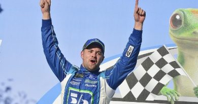 NASCAR Monster Energy Cup Series: Ricky Stenhouse Jr. vence em Talladega