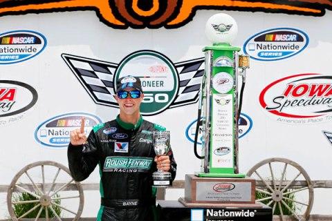 NASCAR Nationwide Series: Trevor Bayne vence em Iowa