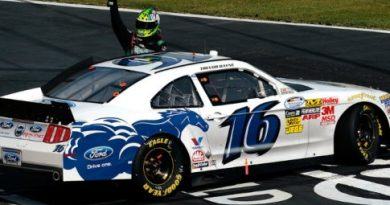 NASCAR Nationwide Series: No Texas, Trevor Bayne vence pela primeira vez