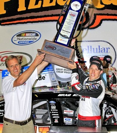 NASCAR Nationwide Series: Brad Keselowski vence em Iowa