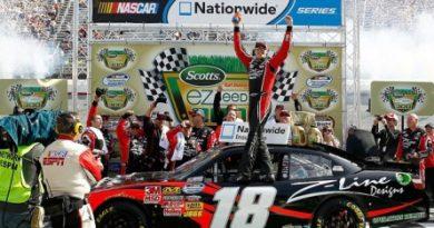 NASCAR Nationwide Series: Kyle Busch vence pela quarta vez consecutiva em Bristol