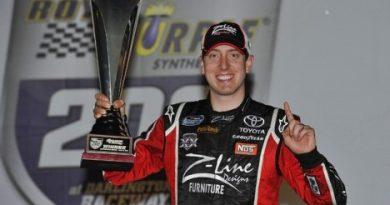 NASCAR Nationwide Series: Kyle Busch vence em Darlington