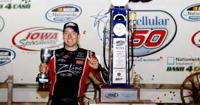 NASCAR Nationwide Series: Kyle Busch vence em Iowa