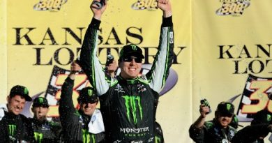 NASCAR Nationwide Series: Kyle Busch vence no Kansas