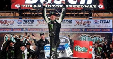 NASCAR Nationwide Series: Kyle Bush vence no Texas