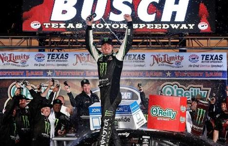 NASCAR Nationwide Series: Kyle Bush vence no Texas