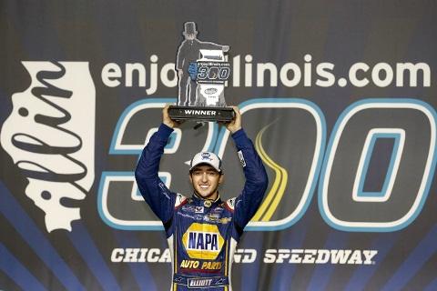 NASCAR Nationwide Series: Chase Elliot vence em Chicago