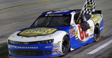 NASCAR Nationwide Series: Brendan Gaughan vence em Kentucky