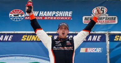 NASCAR XFINITY Series: Denny Hamlin vence em New Hampshire