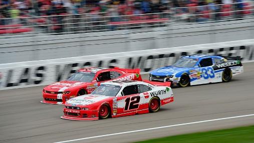 NASCAR Nationwide Series: Sam Hornish Jr. vence em Las Vegas