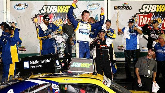 NASCAR Nationwide Series: Na última volta, Kasey Kahne vence em Daytona