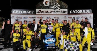 NASCAR Nationwide Series: Joey Logano vence em Darlington