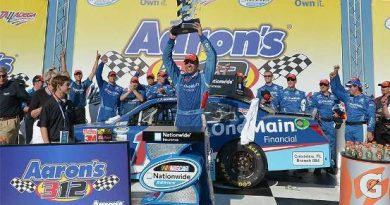 NASCAR Nationwide Series: Elliot Sadler vence em Talladega
