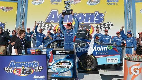 NASCAR Nationwide Series: Elliot Sadler vence em Talladega